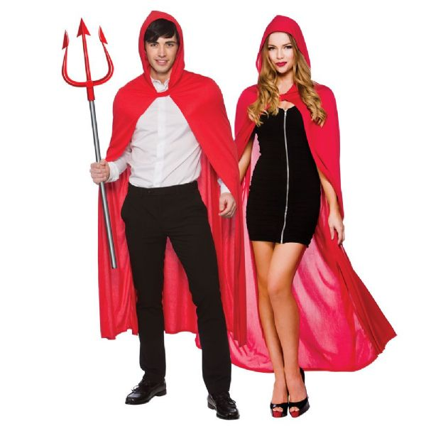 Adult Cape with Hood -Red